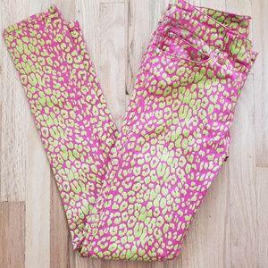 Tripp NYC Pants Daang Goodman Leopard Jeans 5